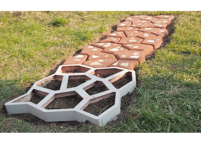 Изготовление формы для садовых дорожек своими руками